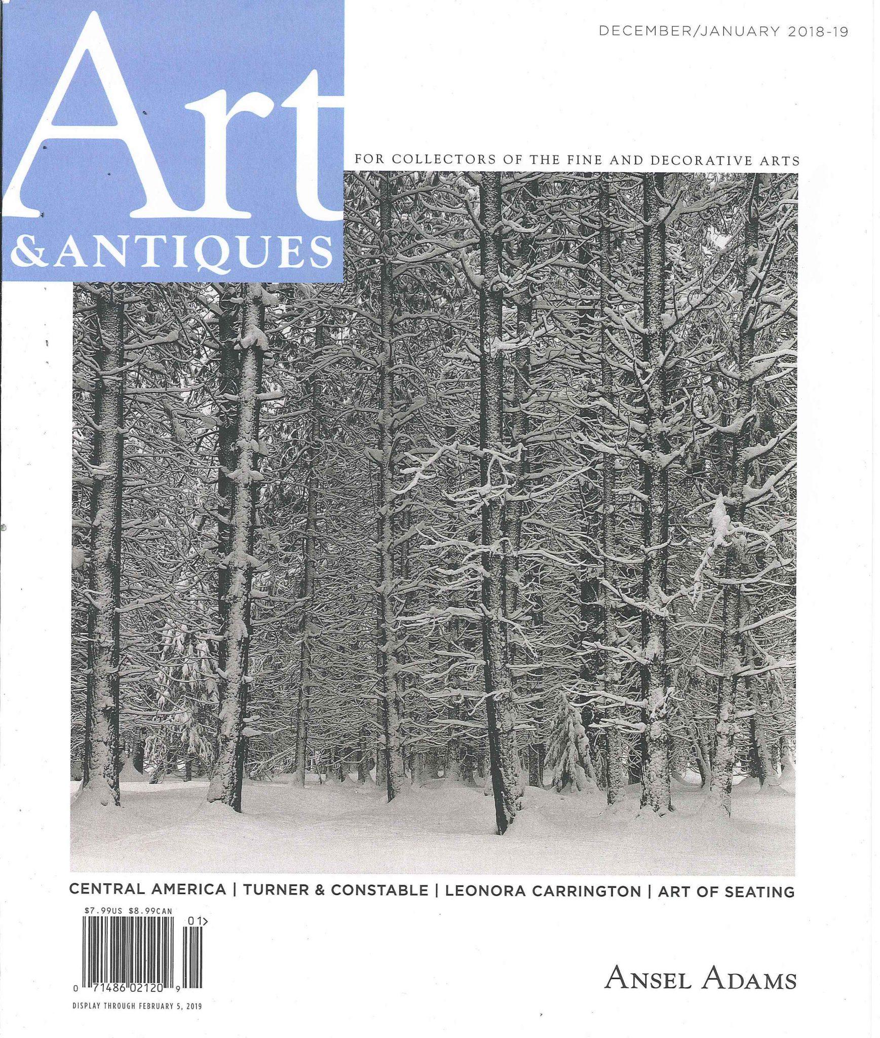 Art & Antiques Magazine - Dec 2018/Jan 2019 - Palm Beach Show